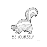 Color the Forest X Be Yourself Pósters por Elyse DeNeige