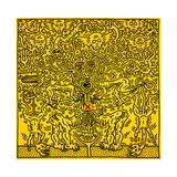 Untitled 1985 Lámina giclée por Keith Haring