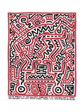 Fun Gallery Exhibition, 1983 Reproduction procédé giclée par Keith Haring