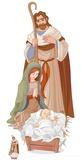 Nativity Scene Pappfigurer