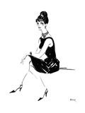 Efeu Kunstdruck von Mona Shafer-Edwards