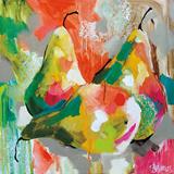 Sunlit Pears Poster von Amanda J. Brooks