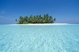 Unbewohnte Tropeninsel, Ari-Atoll, Malediven Fototapete – groß von Stuart Westmoreland