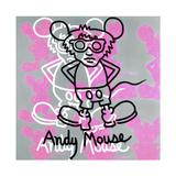 Andy Mouse 1985 Reproduction procédé giclée par Keith Haring