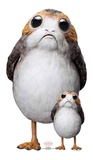 Star Wars VIII The Last Jedi - Porg - Mini Cutout Included Silhouettes découpées en carton