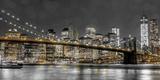 New York Lights Fotografie-Druck von Assaf Frank