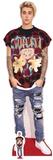 Justin Bieber - Ripped Jeans - Mini Cutout Included Silhouettes découpées en carton