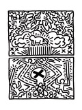 Poster for Nuclear Disarmament Giclee Print by Keith Haring