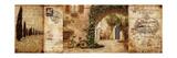 Toskanischer Hof Poster von Keith Mallett