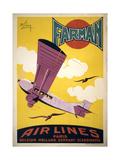 Farman Air Lines Kunst