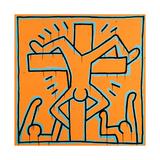 Untitled, 1984 Lámina giclée por Keith Haring