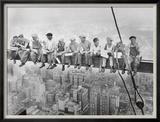 Déjeuner au sommet d'un gratte-ciel, 1932 Posters par Charles C. Ebbets