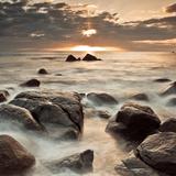Midnight Sunrise Fotografie-Druck von Assaf Frank