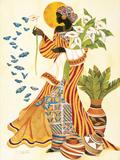 Soul's Awakening Plakat av Keith Mallett