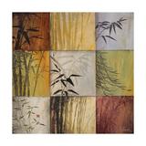 Bamboo Nine Patch II Póster por Don Li-Leger
