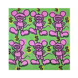 Andy Mouse 1985 Giclée-vedos tekijänä Keith Haring