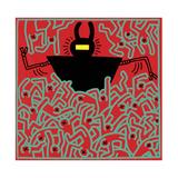 Untitled 1983 Lámina giclée por Keith Haring