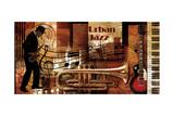 Urban Jazz Poster von Paul Robert