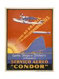 "Servico Aereo ""Condor"" Poster"