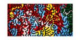 Zonder titel Gicléedruk van Keith Haring