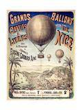 Grands Ballons de Nice Posters
