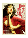 Blood From the Mummy's Tomb 1971 Plakater