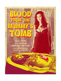 Blood From the Mummy's Tomb 1971 (Yellow) Poster