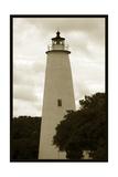 Ocracoke Island Lighthouse Fotografisk trykk av Jason Johnson