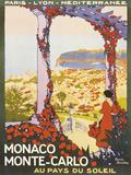 Monte Carlo, Monaco ジクレープリント : ロジェ・ブロデール