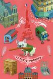 Le Petit Parisien Lámina por Aaron Meshon