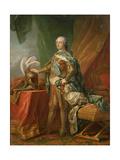 Louis XV of France Giclee Print by Carle van Loo