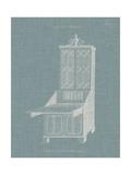 Hepplewhite Desk & Bookcase IV Prints by  Hepplewhite
