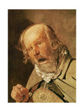 The hurdy-gurdy player, detail of the head, c.1620-25 Giclee Print by Georges de la Tour