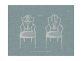 Hepplewhite Chairs III Poster by  Hepplewhite
