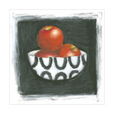 Apples in Bowl Posters by Chariklia Zarris