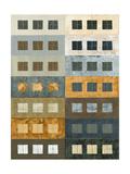 Urban Grid II Premium Giclee Print by Kate Archie