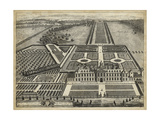 Wrest House in Bedfordshire Prints by J. Kip