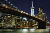 New York at Night I Photographic Print by James McLoughlin