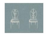 Hepplewhite Chairs IV Prints by  Hepplewhite