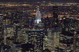 New York at Night III Photographic Print by James McLoughlin