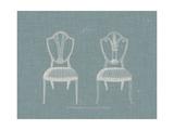 Hepplewhite Chairs II Prints by  Hepplewhite