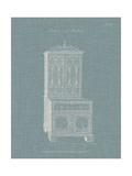 Hepplewhite Desk & Bookcase III Print by  Hepplewhite