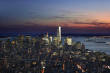 New York at Night IX Photographic Print by James McLoughlin