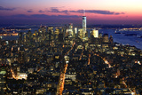 New York at Night VIII Photographic Print by James McLoughlin