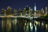 New York at Night VII Photographic Print by James McLoughlin