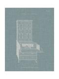 Hepplewhite Desk & Bookcase I Poster by  Hepplewhite