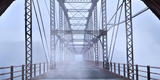 Misty Bridge Photographic Print by James McLoughlin