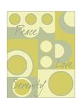 Circle of Love I Plakater af Kate Archie