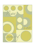 Circle of Love I Premium Giclee Print by Kate Archie