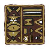 Tribal Rhythms I Prints by Virginia A. Roper